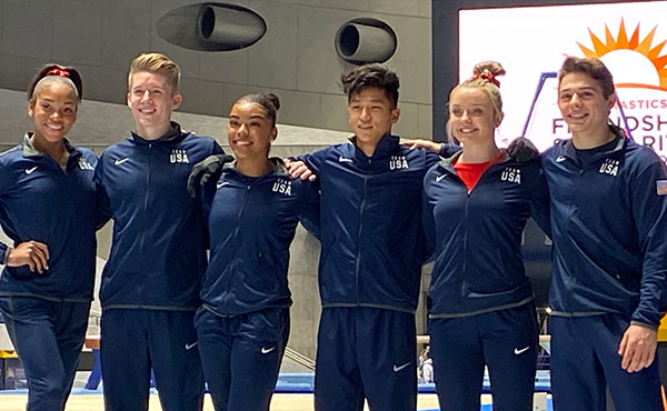 Six U.S. athletes participate in Friendship and Solidarity friendly competition in Tokyo