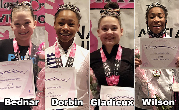 First gymnasts qualify for 2021 Nastia Liukin Cup