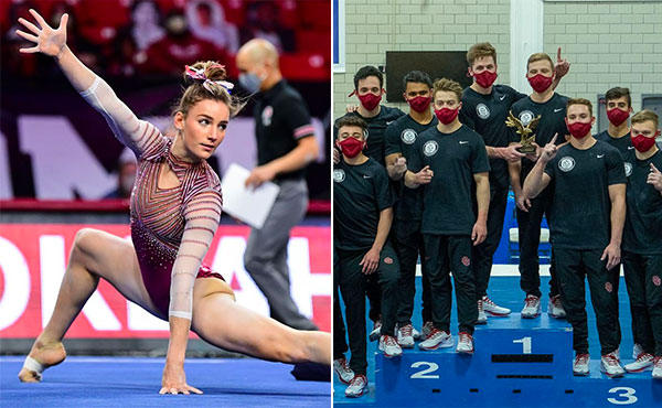 Collegiate Gymnastics Weekend Recap - Jan. 15-17, 2021