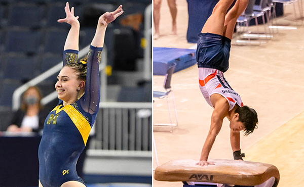 Collegiate Gymnastics Weekend Recap - Jan. 22-24, 2021