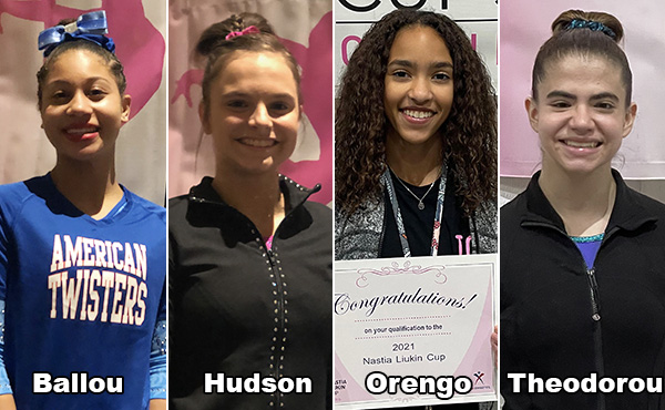 Four more gymnasts qualify for 2021 Nastia Liukin Cup