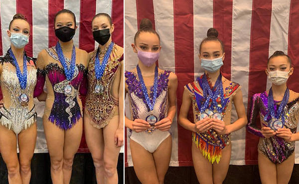 Griskenas, Gow take 2021 Rhythmic Challenge senior and junior all-around titles