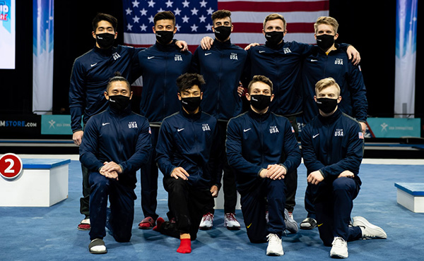 Winter Cup individual men's event champions named, four additional gymnasts earn U.S. Men's National Team berths