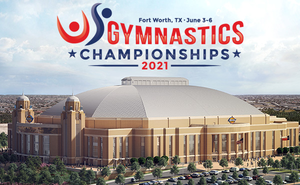 Single-session tickets for 2021 U.S. Gymnastics Championships on sale now