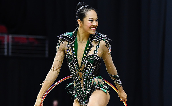 Zeng advances to hoop final, sits ninth in the all-around at Baku World Cup