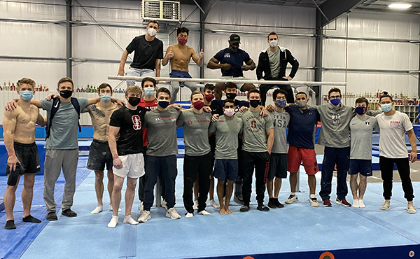 USA Gymnastics hosts first Men's National Team camp of 2021