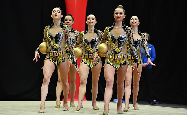 Rhythmic World Cup Series continues this weekend in Baku, Senior National Group set to make 2021 international debut