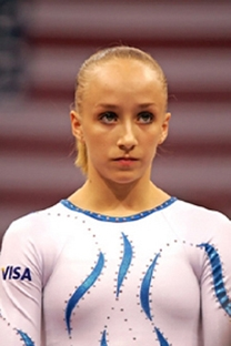 Usa Gymnastics World Champion Gymnast Nastia Liukin