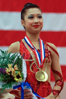 USA Gymnastics | Wang wins third straight all-around title at 2008 Visa Championships