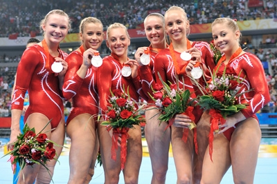 Usa girls olympic gymnastics team