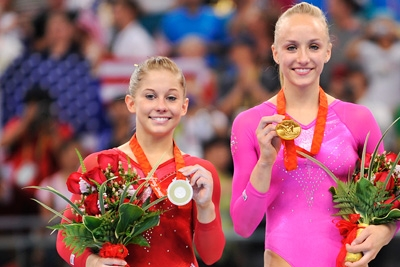 Image result for shawn johnson  and nastia liukin