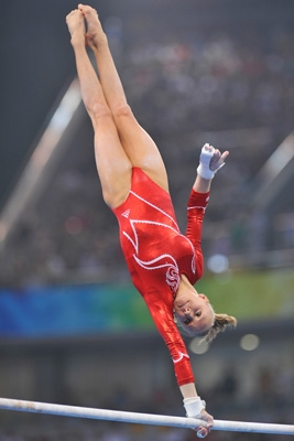 Usa Gymnastics Liukin Competes Monday In Uneven Bars