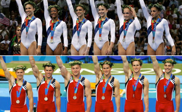 Usa Gymnastics 2004 A Year To Celebrate For Olympians