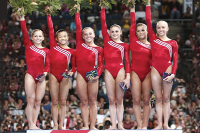 Usa Gymnastics U S Women Win Team Title At 2007 World