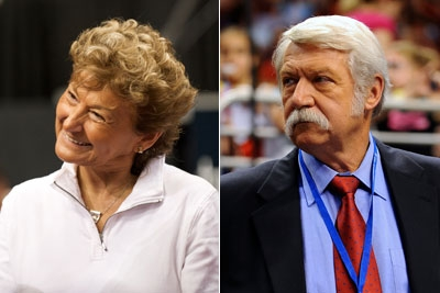 Image result for Bela and Martha Karolyi