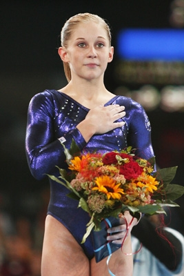 Usa Gymnastics Johnson Wins Women S All Around At 2007