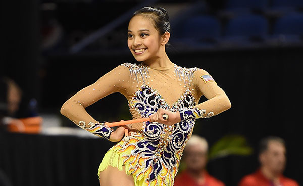 Zeng finishes 7th in all-around, advances to three finals in Minsk