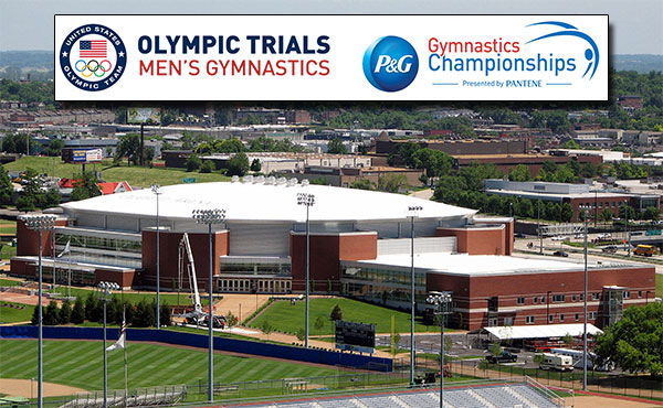 Single-session ticket packages for 2016 U.S. Olympic Team Trials - Men's Gymnastics, P&G Gymnastics Championships for women go on sale April 29