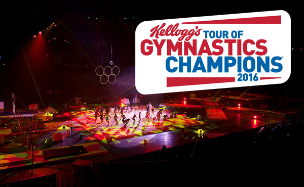 36 cities will play host to 2016 Kellogg's Tour of Gymnastics Champions