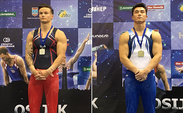 U.S. wins two silver, one bronze at Osijek World Challenge Cup