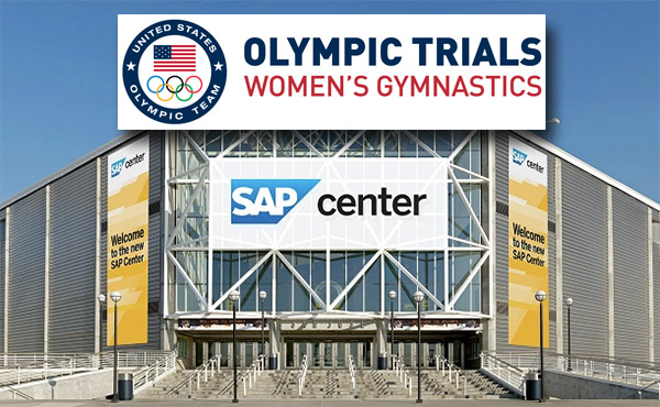 2016 U.S. Olympic Team Trials for Women's Gymnastics in San Jose is officially sold out!