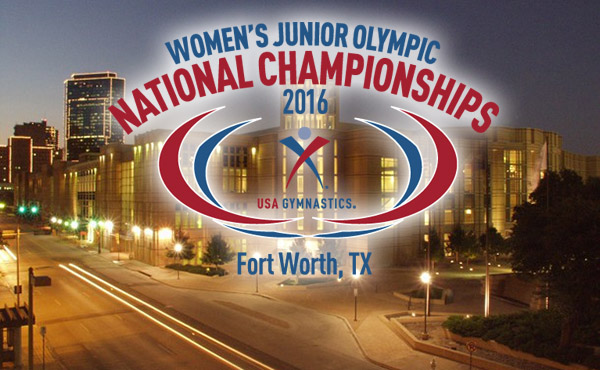 USA's Top Level 10 Gymnasts Head to Fort Worth to Compete in the Junior Olympic National Championships