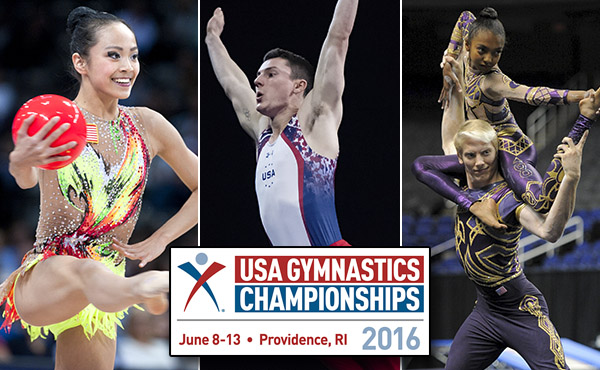 Field is set for 2016 USA Gymnastics Championships