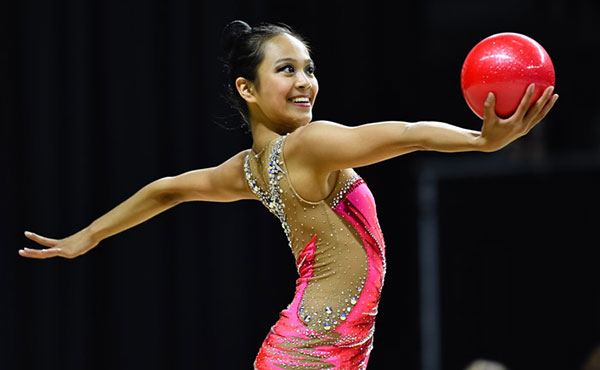 Zeng, Feeley and rhythmic group ready for Rio at Baku World Cup