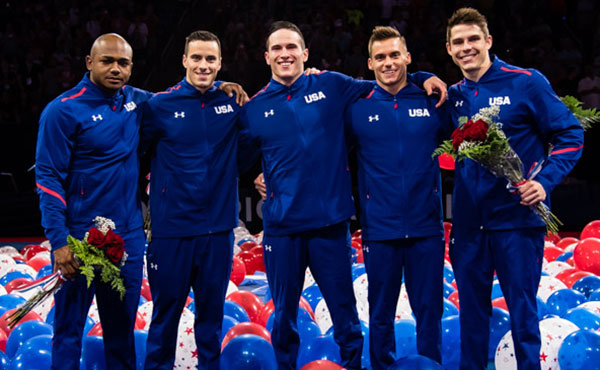 Mikulak wins all-around at 2016 U.S. Olympic Team Trials; U.S. Olympic Men's Gymnastics Team named in St. Louis