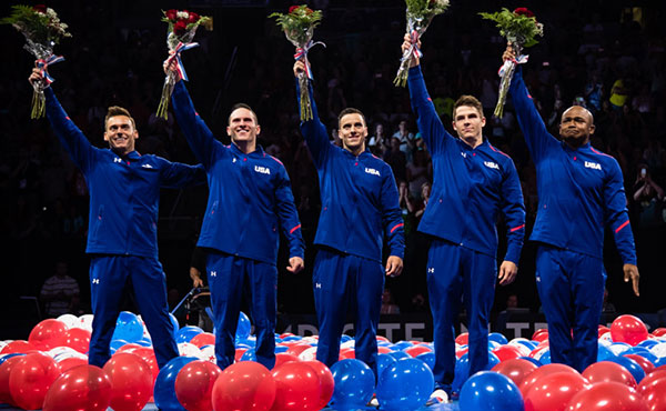 Emotional night culminates with naming of 2016 U.S. men's Olympic team