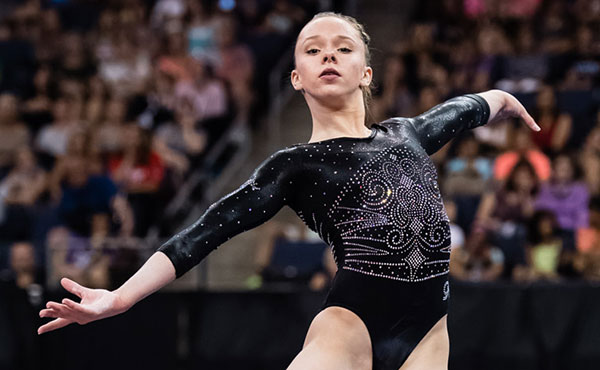 O'Keefe wins junior women's all-around title at 2016 P&G Championships