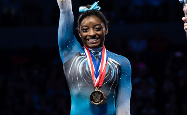 Biles wins fourth-straight U.S. all-around title at 2016 P&G Championships