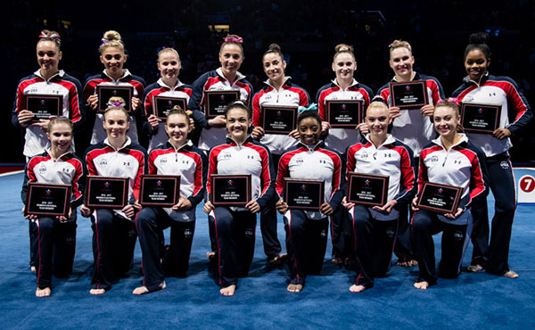 USA Gymnastics announces 2016 U.S. Women's Senior National Team