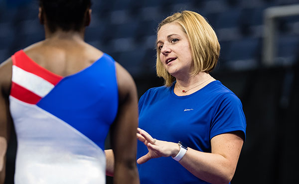 USA Gymnastics names women's gymnastics coaches, team captain for Rio