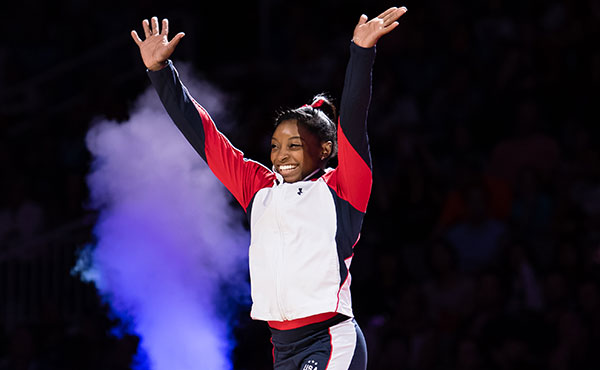 Biles makes shortlist for Time's 2016 Person of the Year