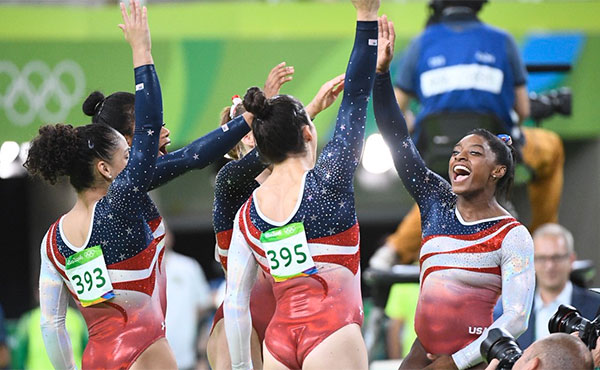 12 Olympic medals highlight record year for USA Gymnastics
