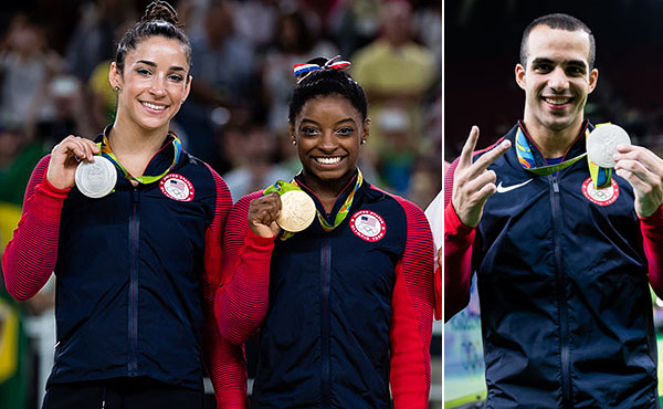 USA wins four medals on final day of artistic gymnastics in Rio