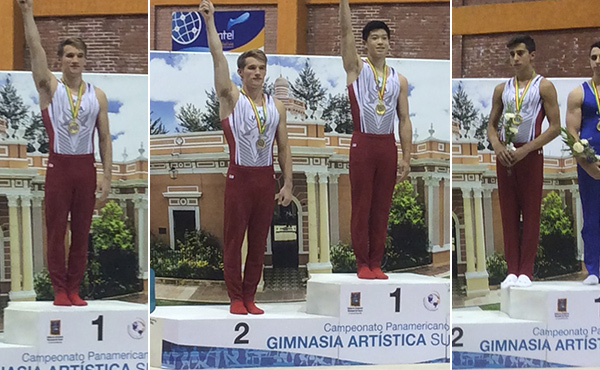 USA wins three gold, one silver on day one of event finals at 2016 Junior Pan American Championships