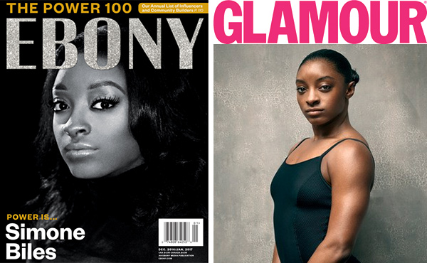 Biles earns Ebony's Power 100, Glamour's Women of the Year honors