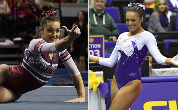 Collegiate gymnastics weekly recap - Jan. 6-8