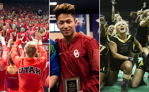 Collegiate gymnastics weekly recap - Feb. 13-19