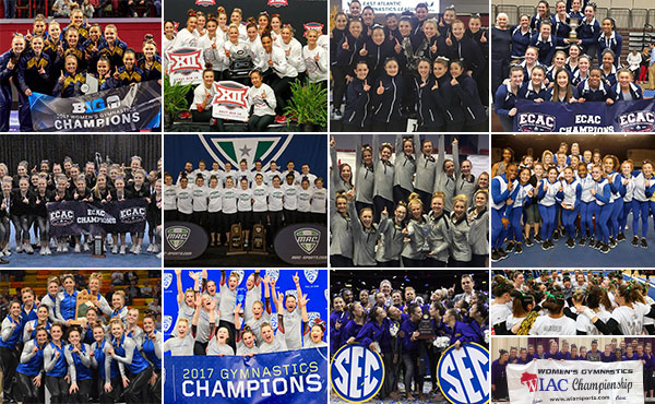 Collegiate gymnastics weekly recap - March 15-18