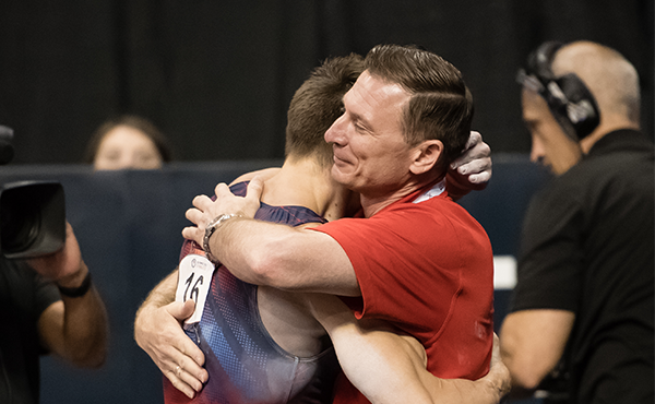 Stepanchenko named head coach at U.S. Olympic Training Center