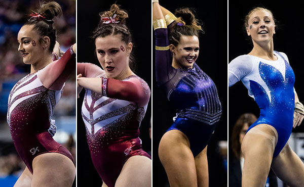 Nominees Announced for Class of 2017 Honda Sport Award for Gymnastics