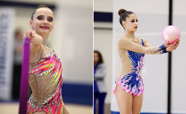 Feeley, Denisova win Rhythmic National Qualifier