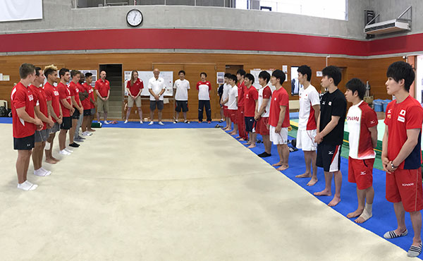 U.S. men participate in joint camp with Japan