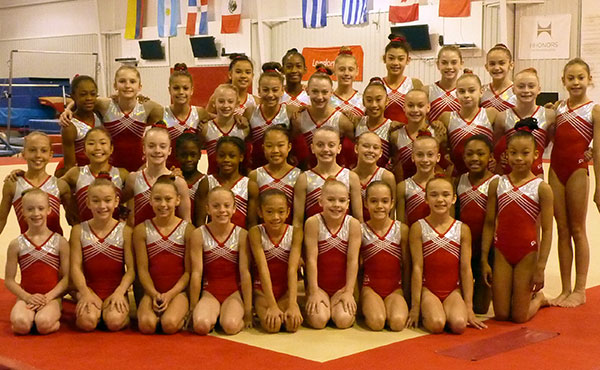 Developmental camps wrap up at USA Gymnastics National Team Training Center