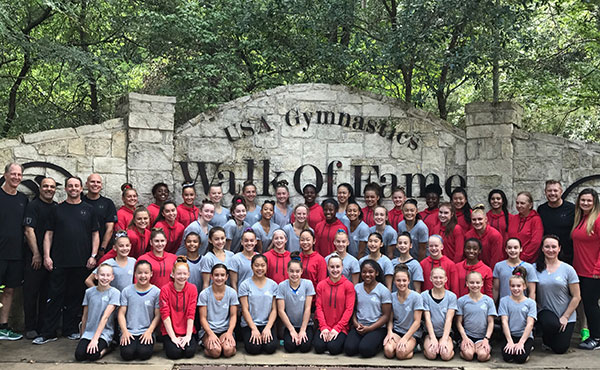 Women's J.O. Training Camp Concludes in Texas