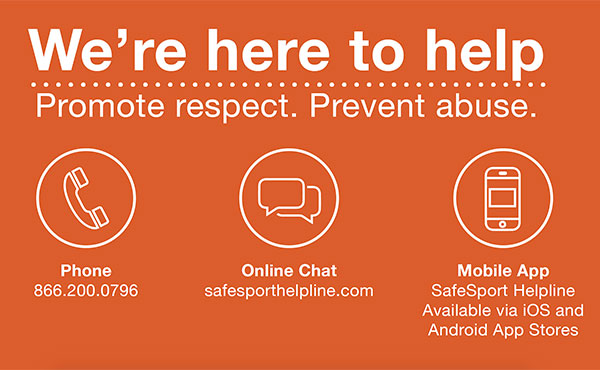 U.S. Center for SafeSport Launches Victim Services Helpline