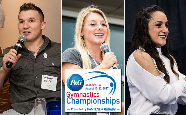 Horton, Peszek and Wieber will lead P&G Championships online coverage